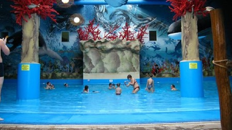 Детский бассейн в аквапарке Dream Town, где произошла трагедия, фото: blog.i.ua/Max_TAG