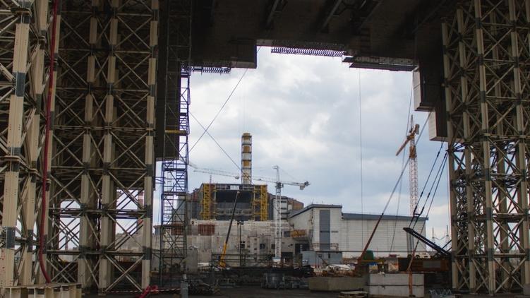 Так выглядит Чернобыльская АЭС сегодня, фото: Украинские новости