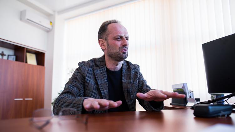 Роман Бессмертный вышел из процесса, фото: Влад Содель / apostrophe.com.ua