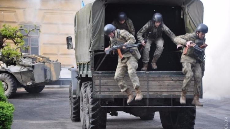 В Одессе перед 2 мая практически ежедневно идут антитеррористические учения, Думская