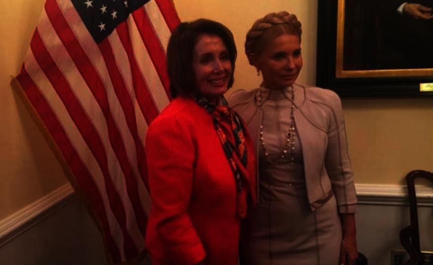 Юлия Тимошенко встретилась с лидером Демократического меньшинства представителей Конгресса США Нэнси Пелоси., facebook.com/YuliaTymoshenko