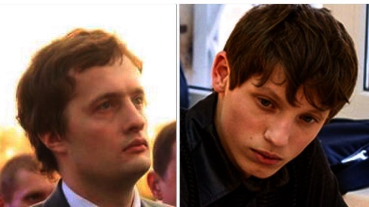 Сын президента Алексей Порошенко и сын главы СНБО Кирилл Турчинов,