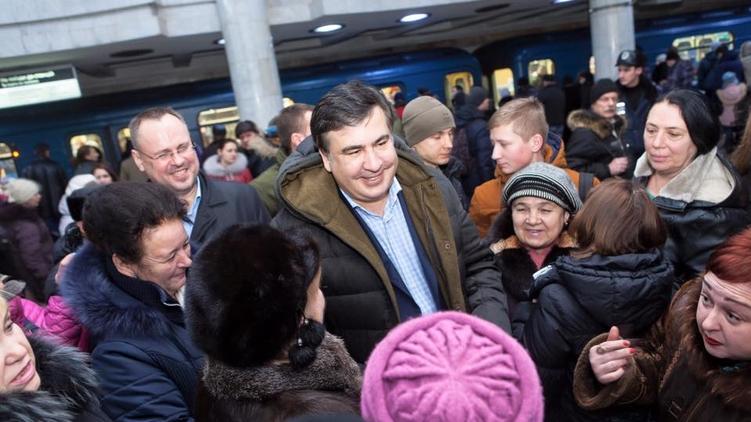 Председатель Одесской ОГА Михеил Саакашвили, facebook.com/SaakashviliMikheil