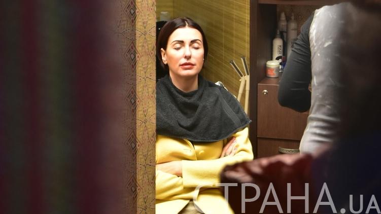 Терезия Яценюк ждет, пока