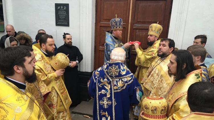 В Малой Софии возобновились богослужения, Иван Сидор