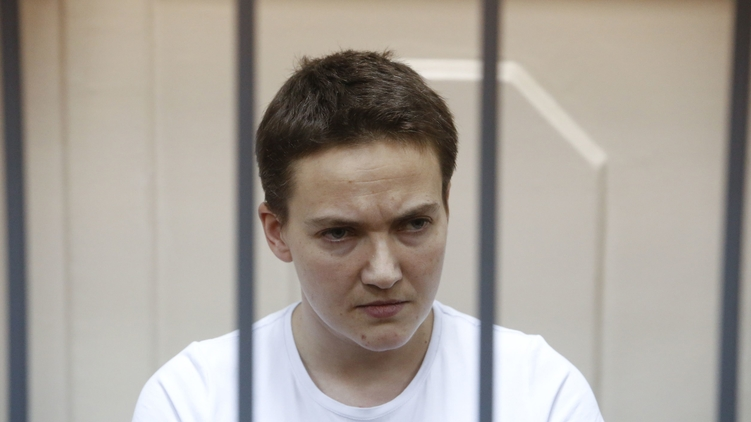 Надежда Савченко в российском суде, автор фото: news-cloud.net