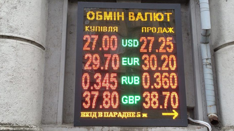 Курс валют, фото: