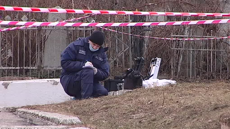 На месте убийства Димента, mediaport.ua