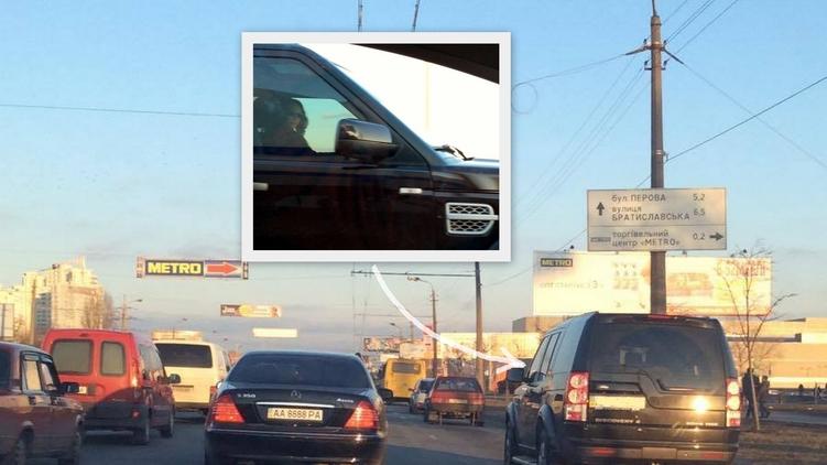 Жена Виталия Кличко попалась на нарушении правил дорожного движения, фото: Изым Каумбаев,