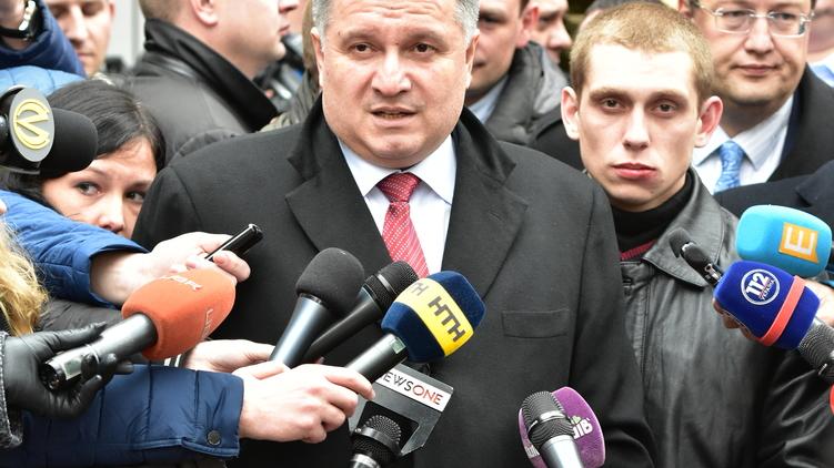 Аваков, Олейник и Геращенко после заседания, фото: Аркадий Манн,