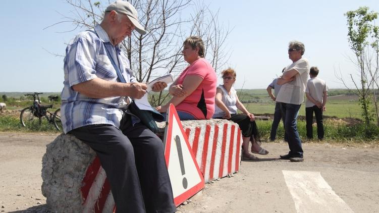 На блок-посту в зоне АТО, Украинские новости
