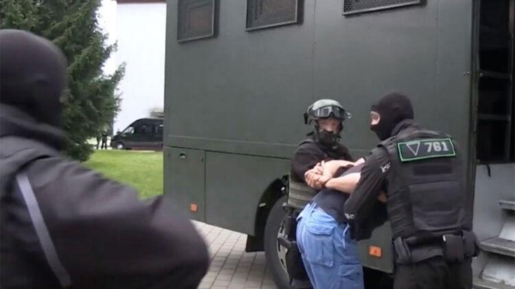 Задержание вагнеровцев в Беларуси. Фото КГБ республики