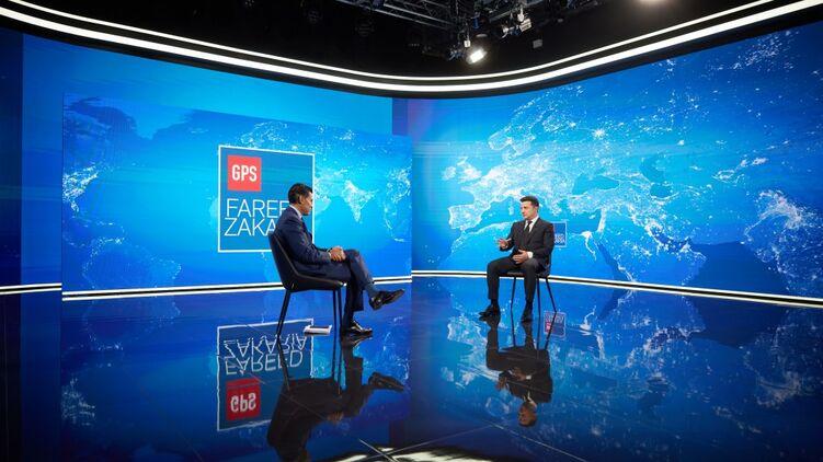 Зеленский показал, что его знания географии хромают. Фото: president.gov.ua