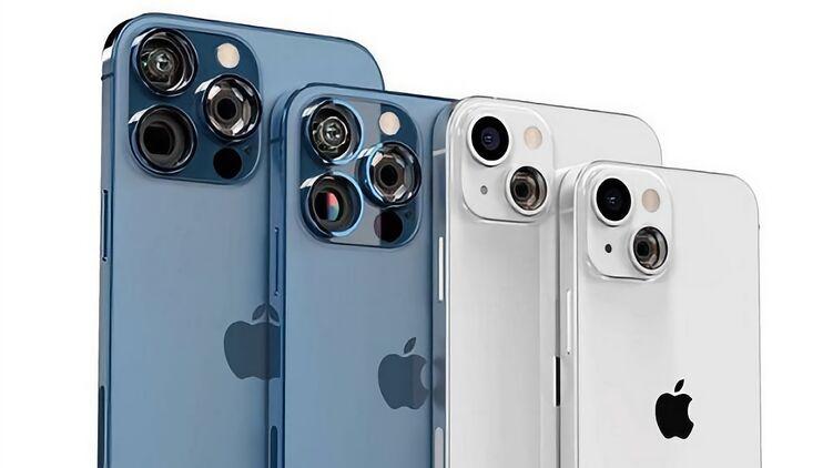 13 Pro Max, iPhone 13 Pro, iPhone 13 и iPhone 13 mini