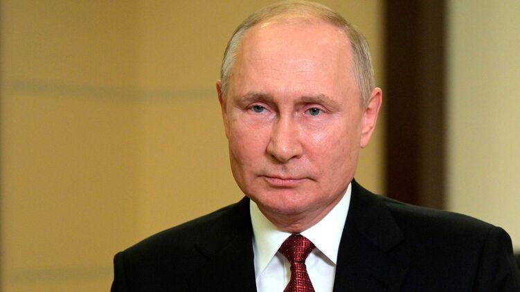 Владимир Путин во время видеобращения 16 сентября. Фото с сайта Кремля