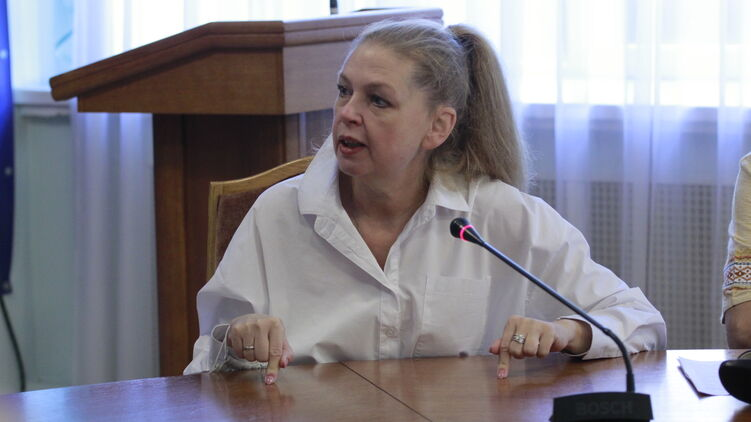 Елена Фиданян. Фото Минобразования Украины