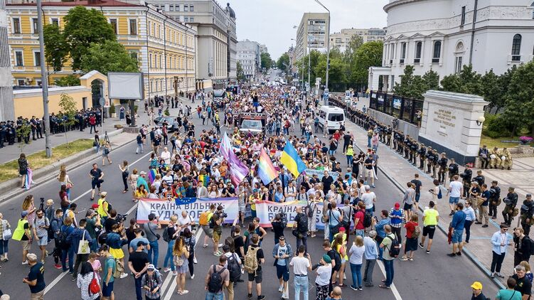 Марш равенства 2021. Иллюстративное фото, instagram.com/kyivpride/