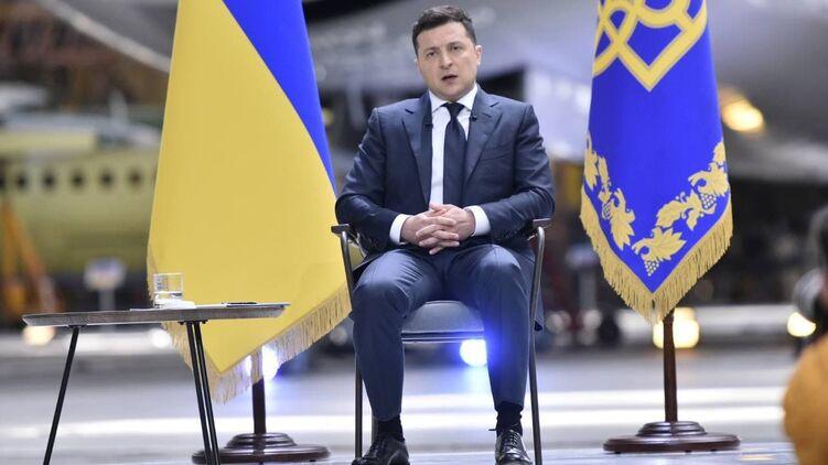 Владимир Зеленский так и не прокомментировал офшорный скандал. Фото