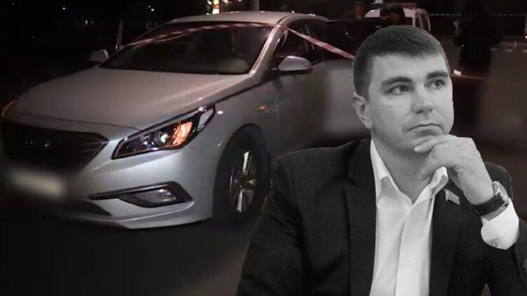 Антон Поляков и место его смерти. Коллаж