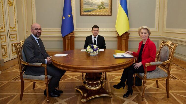 Зеленский согласился снять мораторий на продажу леса. Фото: president.gov.ua