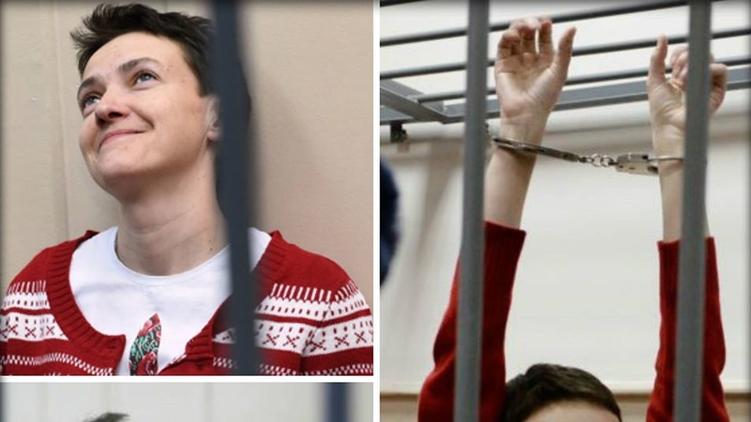 возможно, в скором времени, Савченко обменяют на российских ГРУ-шников, фото из facebook Віра Савченко