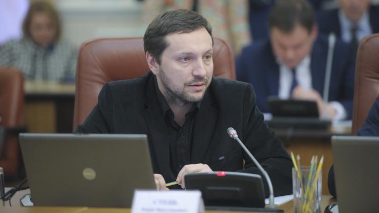 Министр информационной политики Юрий Стець около месяца не посещал заседаний Кабмина, Фото: Кабмин