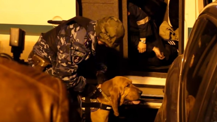 Нападение на инкассаторский автомобиль, фото: Скрин / Odessa1.com
