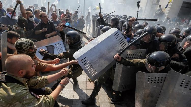 Беспорядки под Радой 31 августа, obozrevatel.ua
