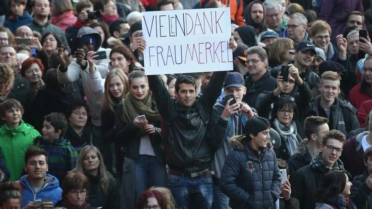 Немцы благодарят фрау Меркель за все хорошее и плохое, что она сделала и готовы сделать новый выбор,, Фото: washingtonpost.com