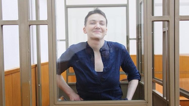 Чиновники России уверяют, что у Надежды достаточно сил на то, чтобы два дня слушать приговор, РИА