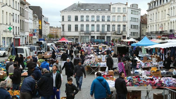 В когда-то бельгийском квартале Моленбек, фото: Эдуард Брайд