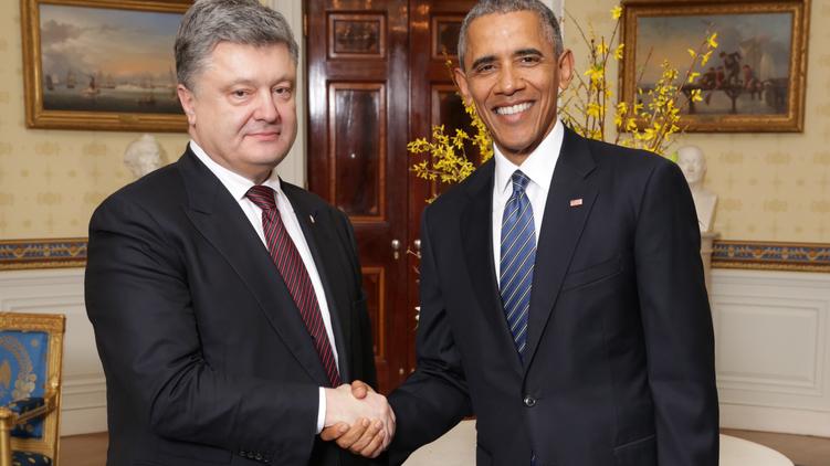 Обама пожал руку Порошенко и еще 56 главам делегаций, Фото: пресс-служба президента Украины