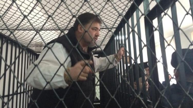 Руслан Коцаба выступает в зале суда, фото: блог Татьяны Монтян