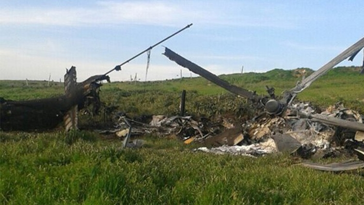 Армения опубликовала фото сбитого азербайджанского самолета. Баку уверяет, что армянам все показалось., сайт panorama.am