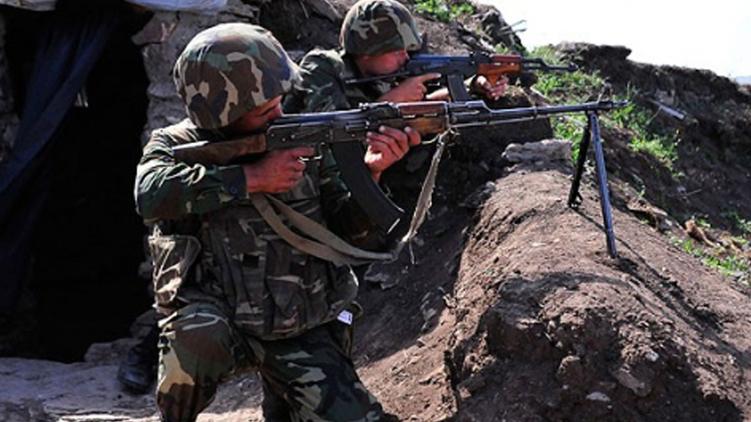 Военные Азербайджана ведут огонь по позициям противника в Нагорном Карабахе, echo.az