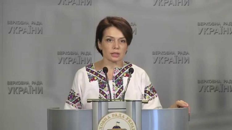Новый министр образования Лилия Гриневич, фото: youtube.com