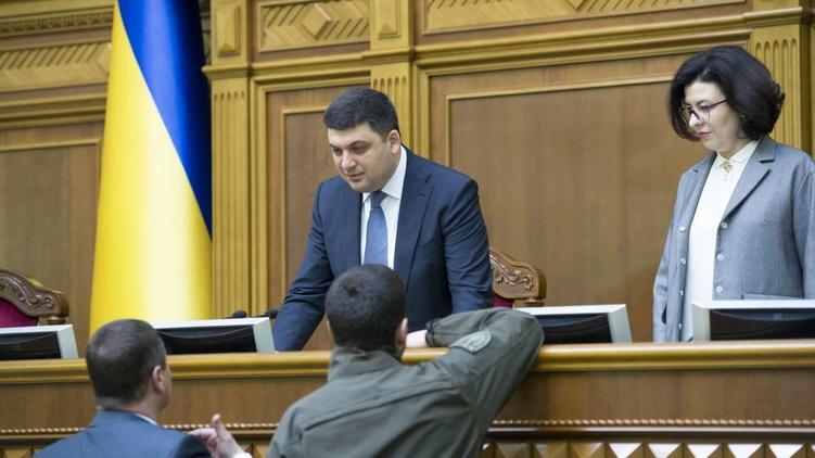 Претендент на премьерское кресло Владимир Гройсман готов отстаивать свои кандидатуры в новый Кабинет министров, фото: Анастасия Сироткина (