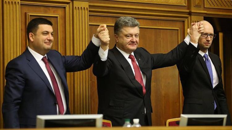 Критики Гройсмана сосредоточены не только на его еврействе, но и на связях с Порошенко. Фото: rusimperia.info