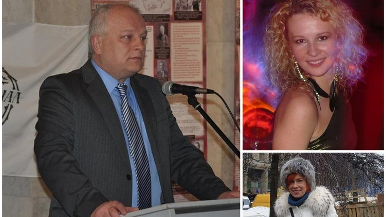 Степан Кубив отправил дочь (справа вверху) в Торонто, а его жена (внизу) живет во Львове, фото: facebook.com