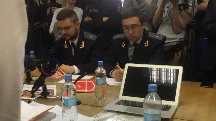 Редкий случай когда прокуроры в Печерском суде находятся в форме, Андрея Богдана/Facebook