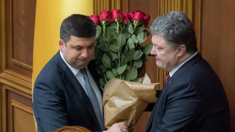 Новому премьеру Владимиру Гройсману при шаткой коалиции придется сложно в стенах парламента, фото: Богдан Бортаков / Facebook