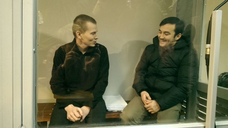 Александр Александров (слева) и Евгений Ерофеев, фото: mediazona