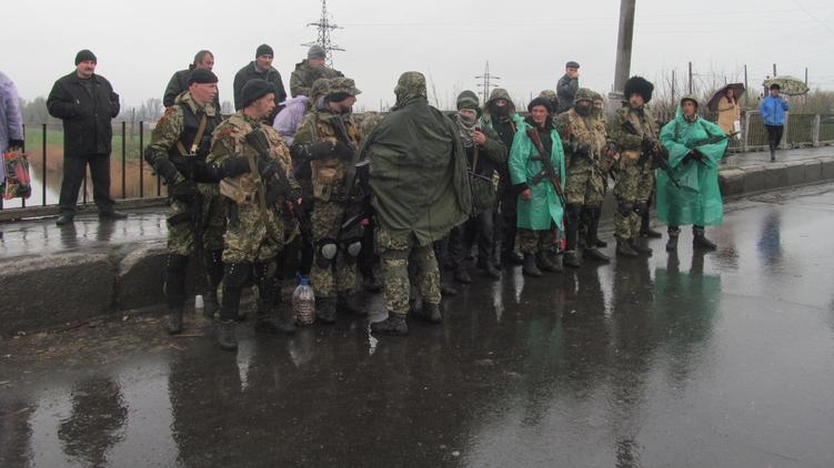 Фото оряда стрелковцев, которые и захватили Славянск, Александр Сибирцев,